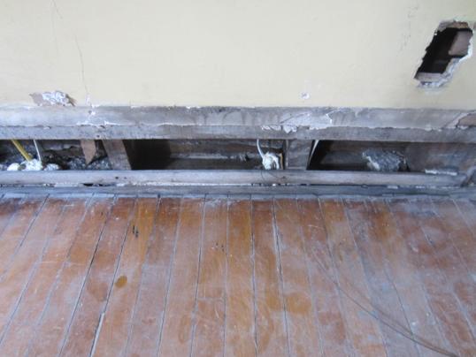 prep for drywall 1