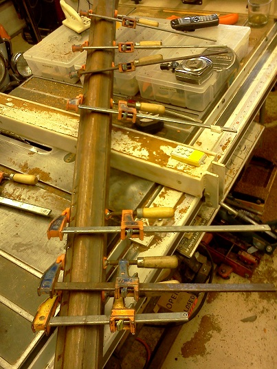 3glue up splits with polyisocyanurate