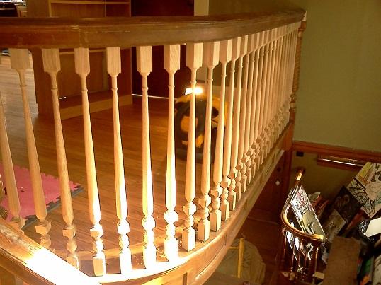 completed upper balustrade 1