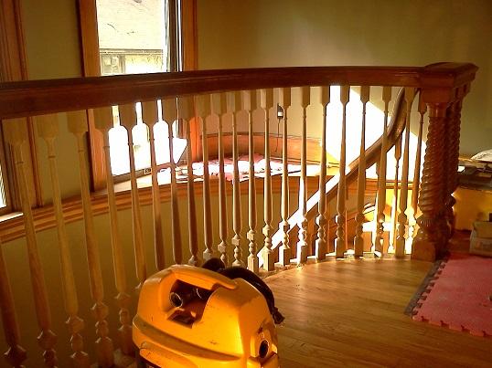 completed upper balustrade 4