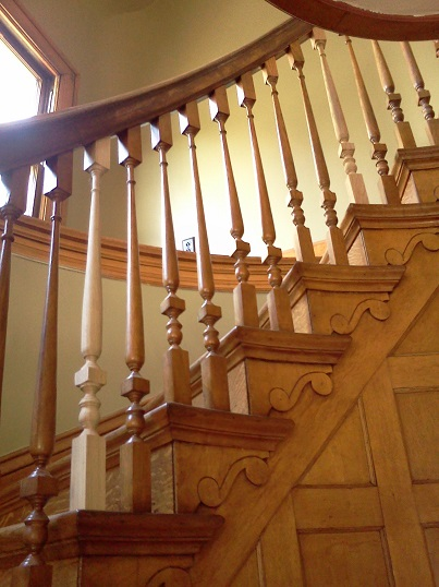 newly installed stair balusters 1