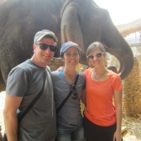 Two Full Days of Elephants - Lucky Us!