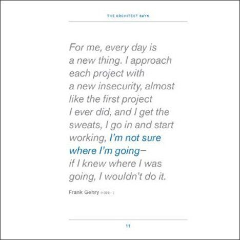 Pinterest Frank Gehry quote